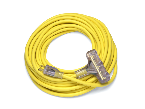 Ext Cord - Yellow 01 - COIL