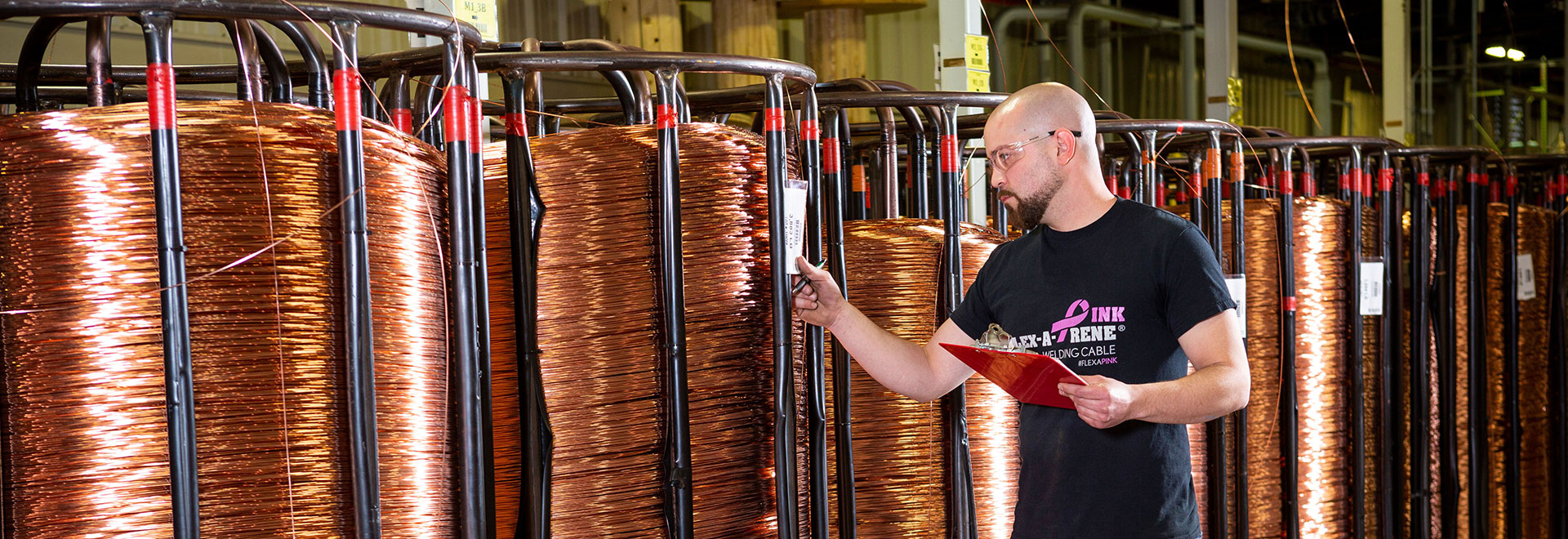 Direct wire tech with wire spools